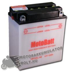 MotoBatt 12V 12Ah jobb YB12AL-A2