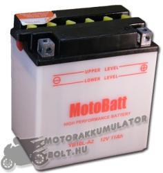 MotoBatt 12V 11Ah jobb YB10L-A2