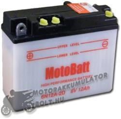 MotoBatt 6V 12Ah bal 6N12A-2D