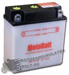MotoBatt 6V 11Ah jobb 6N11A-3B