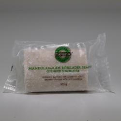 Yamuna Natural Beauty Hidegen sajtolt natúr mandula magos bőrradír szappan (100 g)