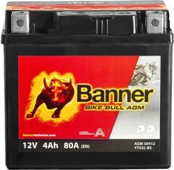 Banner Bike Bull AGM 12V 4Ah Jobb 50412 YTX5L-BS