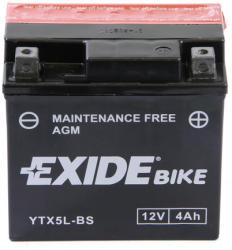 Exide Bike AGM 12V 4Ah jobb YTX5L-BS