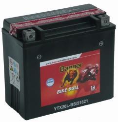 Banner Bike Bull AGM 12V 18Ah Jobb 51821 YTX20L-BS