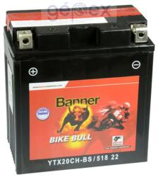 Banner Bike Bull AGM 12V 18Ah Bal 51822 YTX20CH-BS