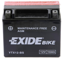 Exide Bike AGM 12V 10Ah bal YTX12-BS
