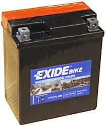 Exide Bike 12V 6Ah jobb ETX7L-BS