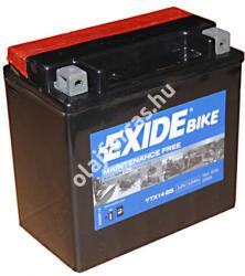 Exide Bike 12V 12Ah jobb ETX14-BS