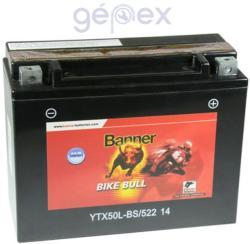 Banner Bike Bull AGM 12V 22Ah Jobb 52214 YTX50L-BS