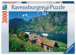 Ravensburger Sogne fjord, Norvégia 3000 db-os (17063)