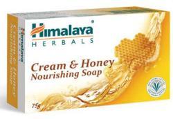 Himalaya Herbals Tápláló Cream & Honey (krémes-mézes) szappan (75 g)