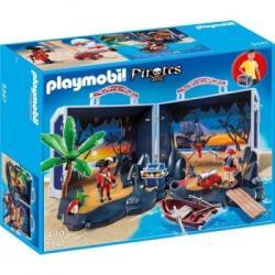 Playmobil Hordozható kalóz zátony (5347)