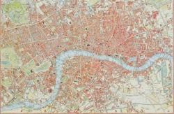 Piatnik London 1831, térkép 1000 db-os