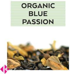 Johan & Nyström Organic Blue Passion Ízesített Zöld Tea 100g