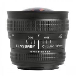 Lensbaby 5.8mm Circular Fisheye (Nikon)