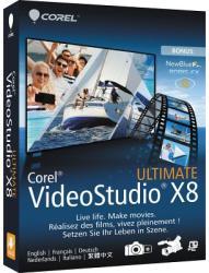 Corel VideoStudio Pro X8 Ultimate VSPRX8ULMLMBEU