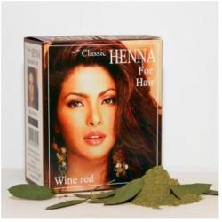 Henna Classic Mélyvörös Hajszínező Por