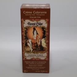 Henné Color Sötét Gesztenye Hajszínező Krém