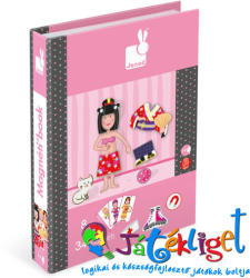 Janod Mágneses könyv - lány (J05546)