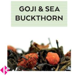 Johan & Nyström Goji Sea Buckthorn Ízesített Zöldtea 100g