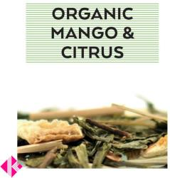 Johan & Nyström Organic Mango Citrus Ízesített Zöldtea 100g