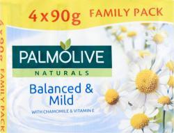 Palmolive Balanced & Mild kamilla és E-vitamin szappan csomag (4x90 g)