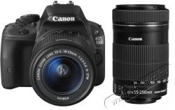 Canon EOS 100D + 18-55mm IS STM + 55-250mm IS STM