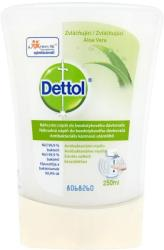 Dettol Érintés nélküli antibakteriális kézmosó utántöltő aloe vera kivonattal (250 ml)