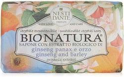 Nesti Dante Bio Natura ginzeng-árpa szappan (250 g)
