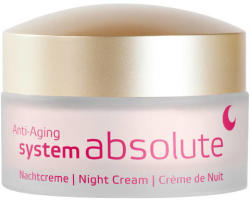 Annemarie Börlind System Absolute Anti-aging Éjszakai krém gazdag textúrával 50ml