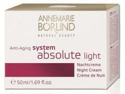Annemarie Börlind System Absolute Anti-aging Éjszakai krém könnyű textúrával 50ml