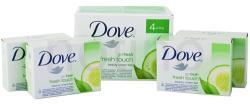 Dove Go Fresh Fresh Touch szappan csomag (4x100 g)