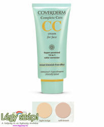 Coverderm CC Cream arcra 12in1 soft brown