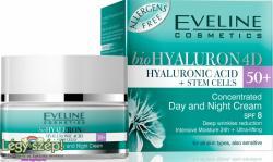 Eveline bioHYALURON 4D 50+ nappali és éjszakai krém 50ml