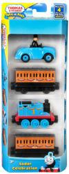 Mattel Thomas kismozdonyok - Ünnep Sodor szigetén (4 darabos készlet) CFC46
