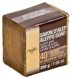 Najel Szíriai Aleppo oliva színszappan 40% babér és 60% olívaolaj (200 g)