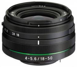 Pentax SMC HD DA 18-50mm f/4-5.6 DC WR RE