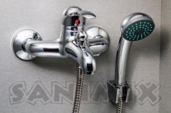Sanimix Bora-Bora kádtöltő csaptelep zuhanyszettel (MY8833-3)
