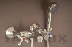 Sanimix CSILLAG kád csaptelep zuhanyszettel (01.5 1/2)