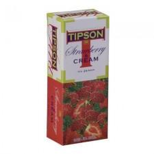 TIPSON Strawberry-Cream Tea 25 filter