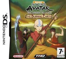 THQ Avatar The Legend of Aang The Burning Earth (Nintendo DS)