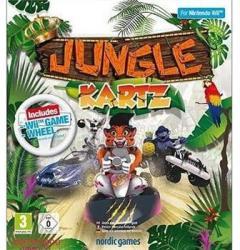 Nordic Games Jungle Kartz [Racing Wheel Bundle] (Wii)