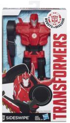 Hasbro Transformers - Robots in Disguise - Sideswipe Titánhõs robotfigura 30 cm-es