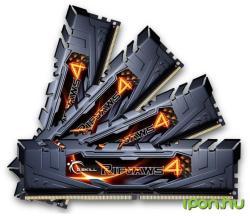 G.SKILL 16GB (4x4GB) DDR4 2133MHz F4-2133C15Q-16GRK