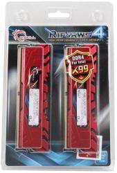 G.SKILL Ripjaws4 16GB (4x4GB) DDR4 2400MHz F4-2400C15-16GRR
