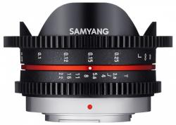 Samyang 7.5mm T3.8 Cine UMC Fish-eye (MFT)