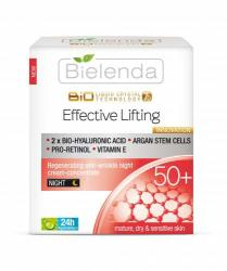 Bielenda Liquid Crystal Biotechnology 7D - Effective Lifting 50+ éjszakai krém 50ml