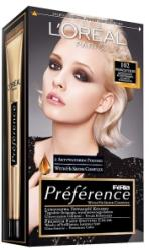 L'Oréal Preference 102 Extra Világos Gyöngyszőke
