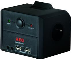 AEG Protect Office 3 Plug + 2 USB 1,8m (6000007746)