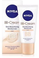 Nivea BB 5in1 hidratáló arckrém világos bőrre 50ml